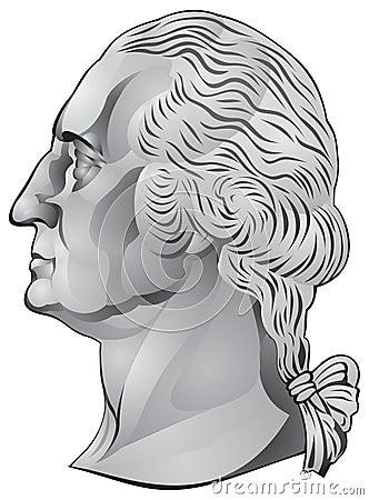 George de eerste de V.S. voorzitter van Washington,