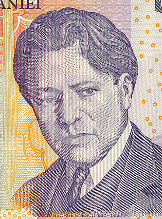 George Enescu Editorial Image