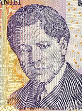 George Enescu Editorial Image