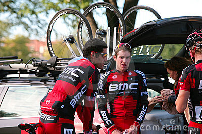George Hincapie and BMC Team Editorial Photography