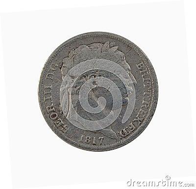 George III Sixpence 1817