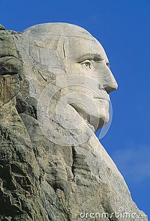 George επικολλά rushmore την Ουάσιγκτον