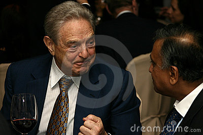 George Soros Editorial Stock Photo