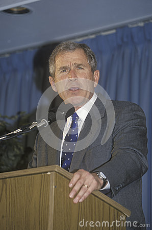 George W. Bush Editorial Stock Image