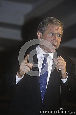 George W. Bush Editorial Stock Photo