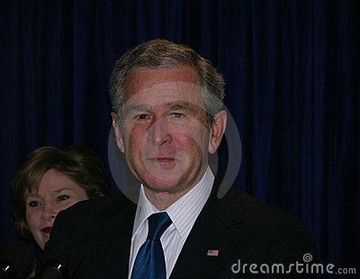 George W. Bush Editorial Stock Photo