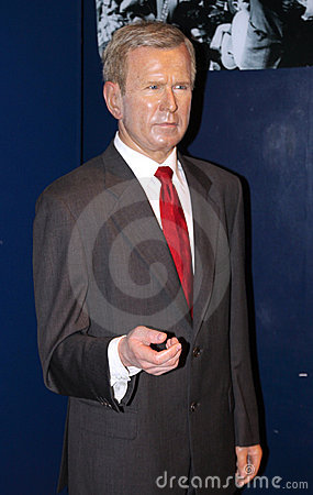George W. Bush at Madame Tussaud s Editorial Photography