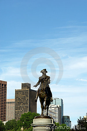 George washington in boston