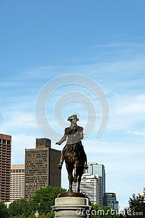 George washington in boston