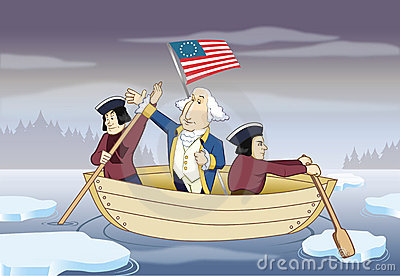 George Washington Crossing Delaware River Stock Photos, Images ...