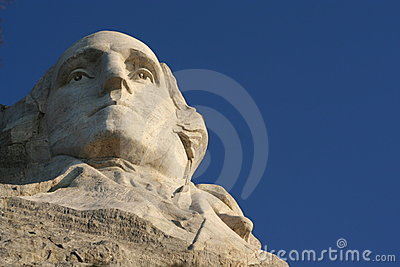 George Washington em Rushmore