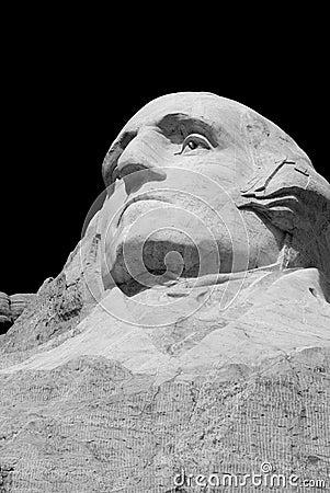 George Washington head