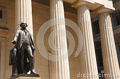 George Washington  inaugural