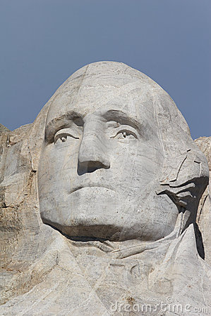 George Washington - mount rushmore national memorial