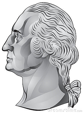 George Washington, primeiro presidente dos E.U.