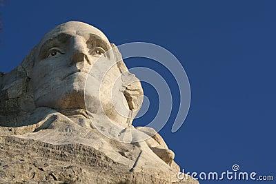 George Washington in Rushmore