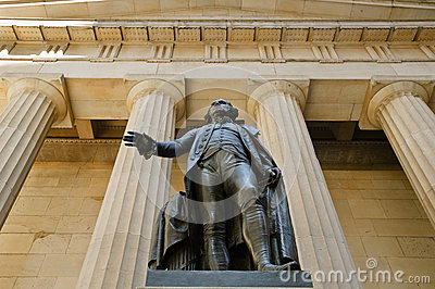 George Washington Statue & Federal Hall National M