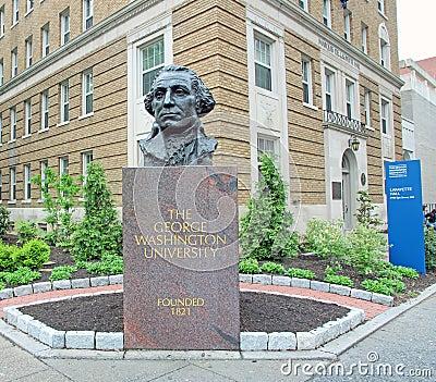 George Washington Statue Editorial Photo