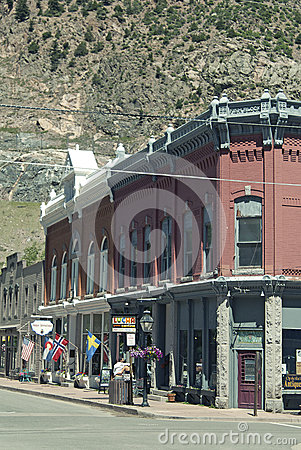 Georgetown Main Street 3 Editorial Stock Photo