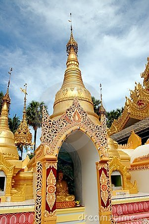 Free Georgetown, Malaysia: Dhammikarama Burmese Temple Royalty Free Stock Images - 14353299