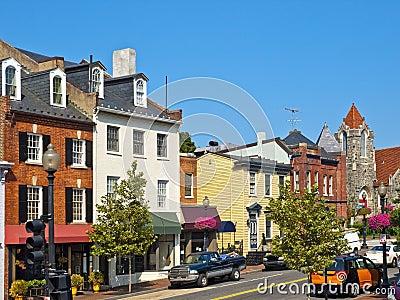 Georgetown Streets, Washington DC
