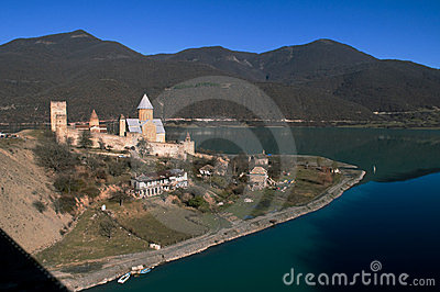 Georgia - castle Ananuri