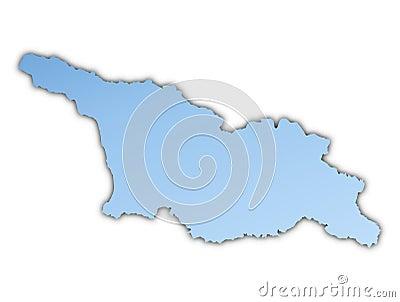 Georgia map