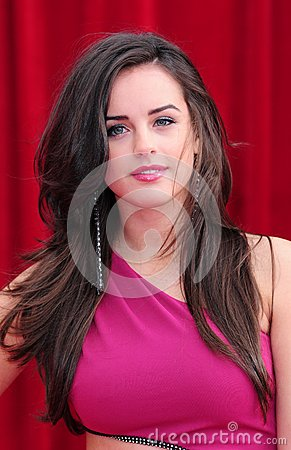 Georgia May Foote Editorial Stock Photo