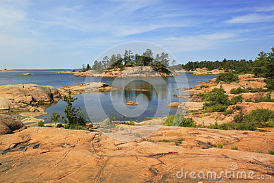Georgian Bay islands, Killarney Provincial Park, Ontario, Canada