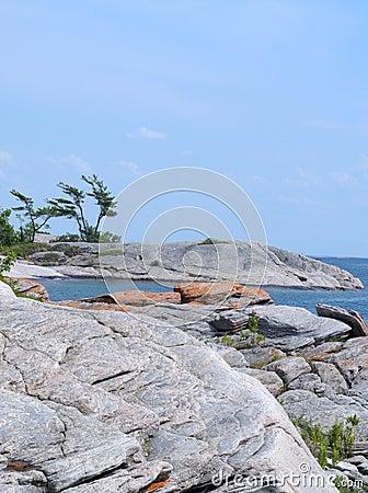 Georgian Bay shoreline