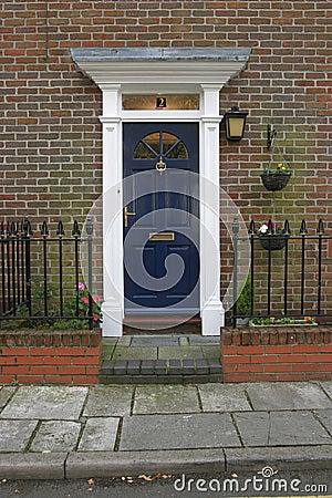 Free Georgian Door 3 Royalty Free Stock Photo - 47245