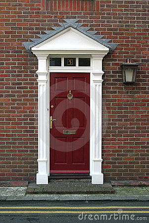 Free Georgian Door Royalty Free Stock Images - 71159