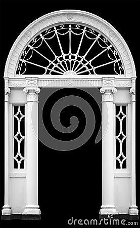 Free Georgian Doorway Royalty Free Stock Photos - 2970998