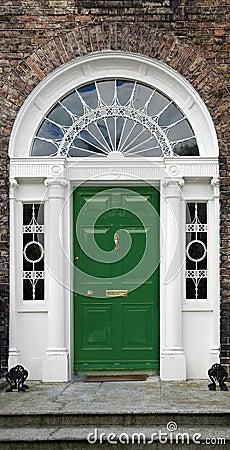 Free Georgian Doorway Stock Image - 2971011