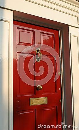 Georgian House Door Exterior