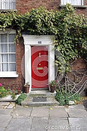 Georgian House Red Door