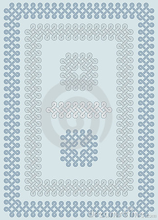 Georgian knot ornament