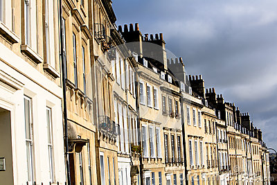 Georgian Terrace in Bath, UK