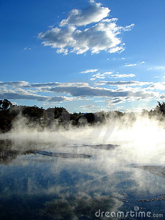 Geothermal activity, Rotorua, New Zealand