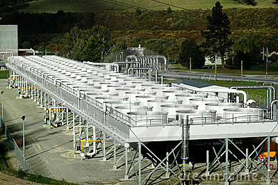 Geothermal Power Cooling Tanks