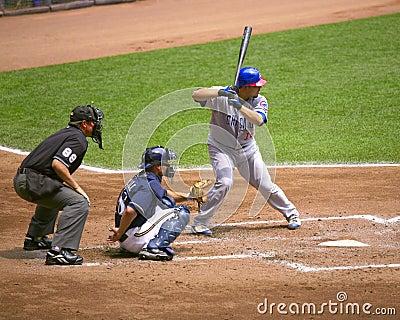 Geovany Soto on bat Editorial Photo
