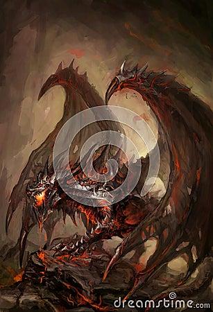 Gepantserde draak