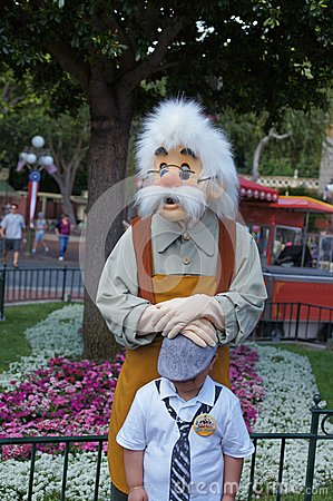 Geppetto at Disneyland Editorial Image