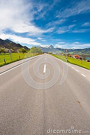 Gerade Straße