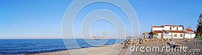 Gerani beach panorama