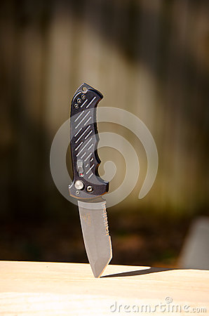 Gerber S30V Combat Fixed Blade Knife Editorial Image