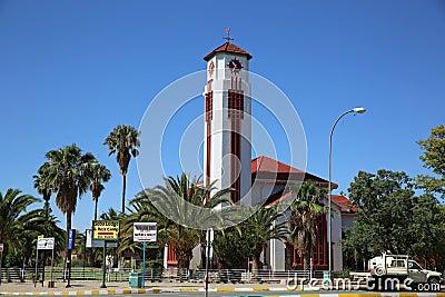 Gereformeerde Kerk. Gobabis Editorial Image