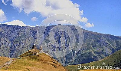 Gergeti mount monastery