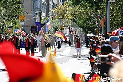 German-American Steuben Parade 2009 Editorial Photo