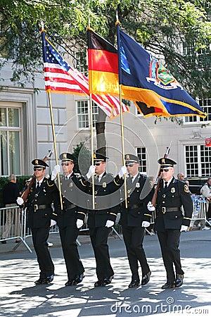 German-American Steuben Parade 2009 New York City Editorial Stock Image